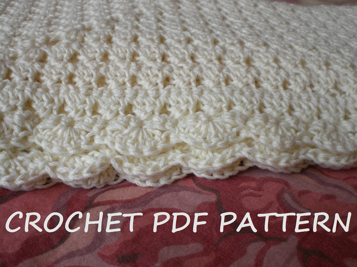 New Crochet Baby Blanket Pattern Pdf 020 From Vivartshop On Easy Baby Crochet Patterns Of Gorgeous 49 Photos Easy Baby Crochet Patterns