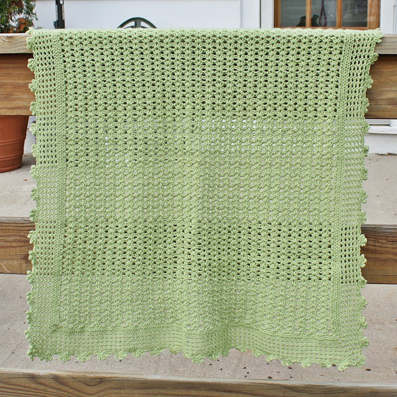 crochet baby blanket patterns light weight yarn