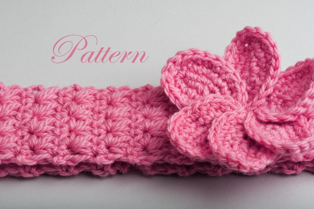 New Crochet Baby Headband Patterns – Crochet Patterns Stretchy Crochet Baby Headband Pattern Of Top 48 Images Stretchy Crochet Baby Headband Pattern