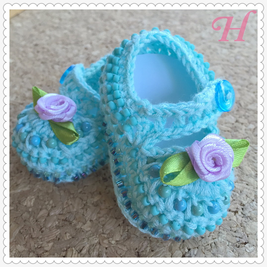 New Crochet Baby Shoes Baby Blues Ch0375 ・clearlyhelena Crochet Baby Girl Shoes Of Amazing 43 Images Crochet Baby Girl Shoes
