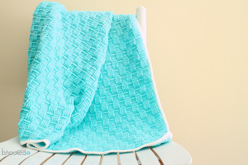 New Crochet Basket Weave Baby Blanket B Hooked Crochet Basket Weave Blanket Of Amazing 45 Models Basket Weave Blanket