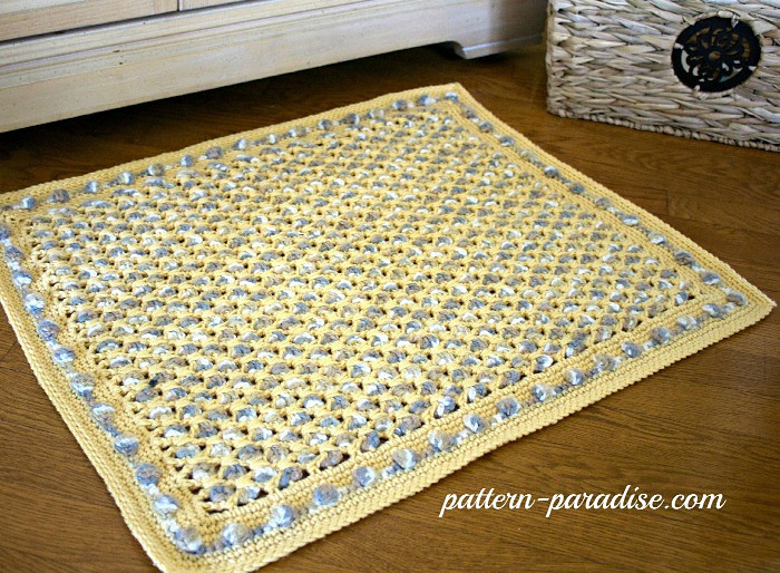 New Crochet Bathmat Paradise [free Pattern] Stylesidea Crochet Bathroom Rug Of Great 43 Images Crochet Bathroom Rug