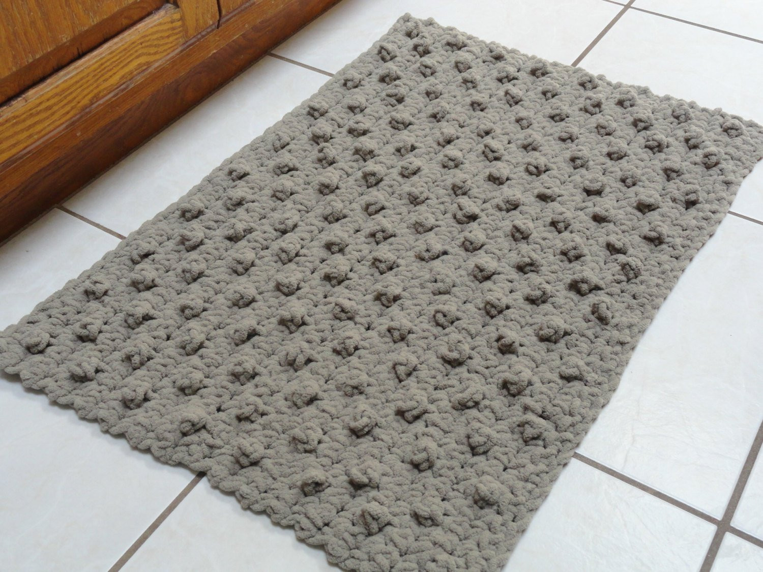 crochet bathroom rug bumpy bath mat ref=shop home active 6