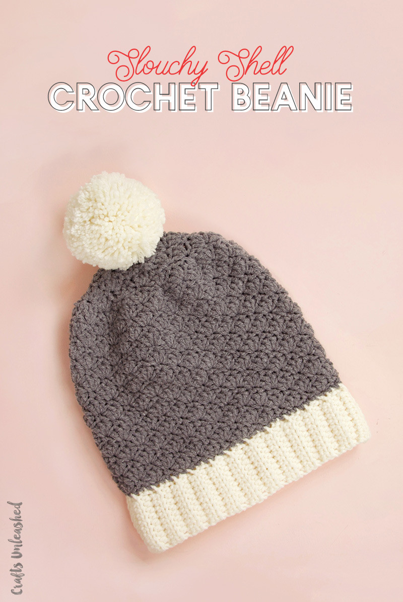 Crochet Beanie Pattern Slouchy Shell Consumer Crafts
