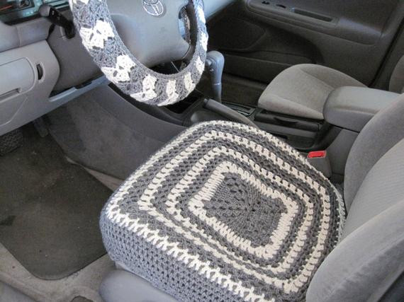 New Crochet Car Front Seat Cover Aran Grey Heather Ccfsc1a Crochet Car Seat Cover Of Gorgeous 44 Images Crochet Car Seat Cover