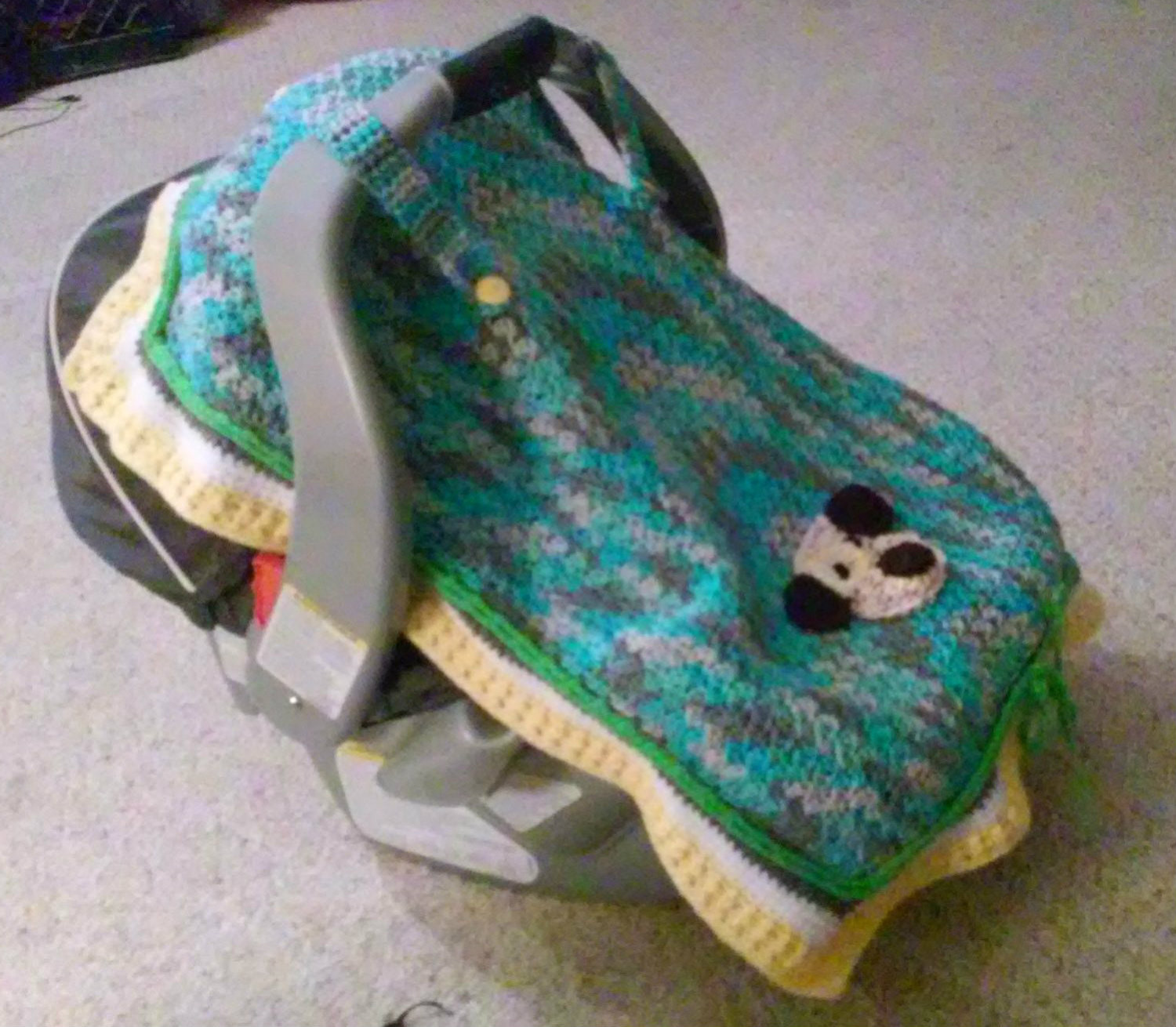 New Crochet Car Seat Cover Tent Baby Boy or Girl by Crochet Car Seat Cover Of Gorgeous 44 Images Crochet Car Seat Cover