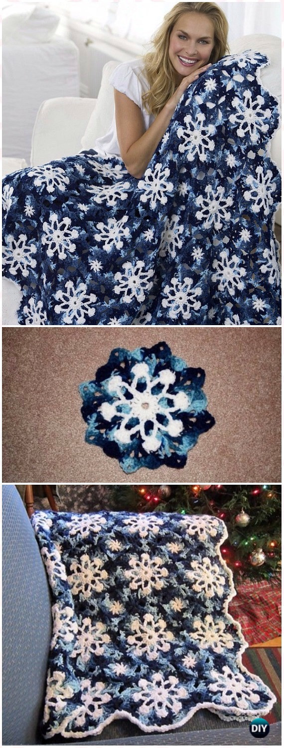 New Crochet Christmas Blanket Free Patterns & Tutorials Snowflake Blanket Of Lovely 50 Models Snowflake Blanket