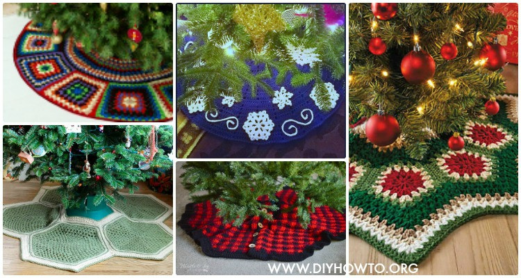 New Crochet Christmas Tree Skirt Free Patterns Crochet Tree Skirt Of Innovative 45 Ideas Crochet Tree Skirt