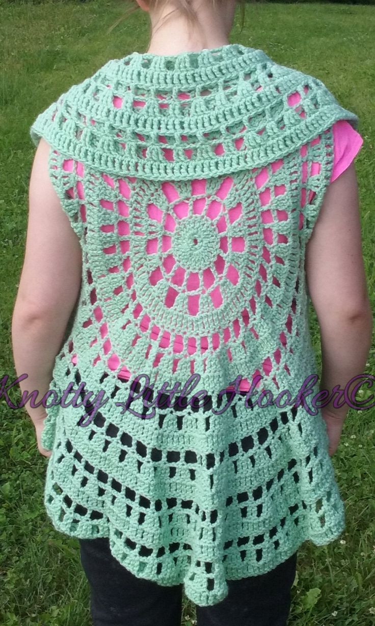 New Crochet Circle Sweater Pattern Crochet Circular Vest Of Delightful 46 Models Crochet Circular Vest