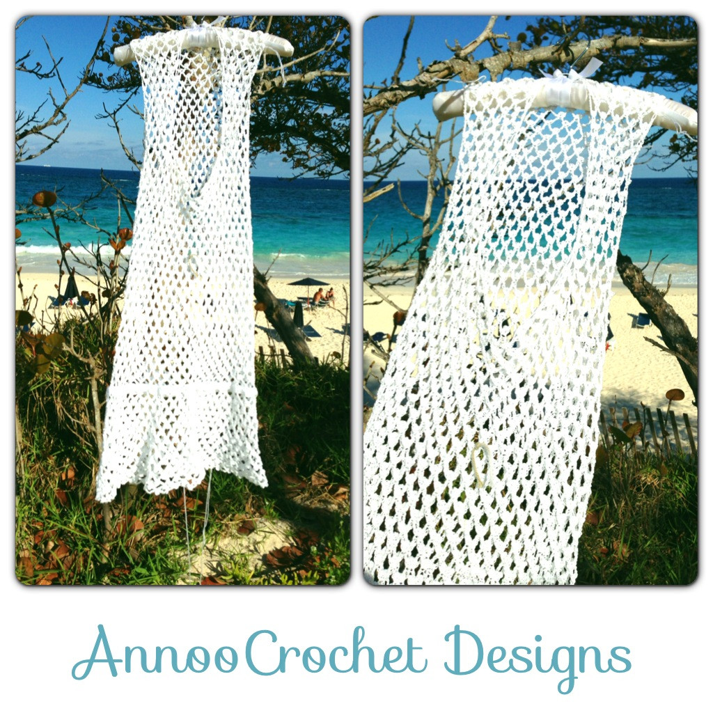 Crochet Cotton Beach Cover Up Pattern Long Sweater Jacket