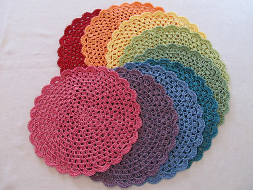 New Crochet Doily Place Mats Crochet Table Mat Of Gorgeous 47 Ideas Crochet Table Mat