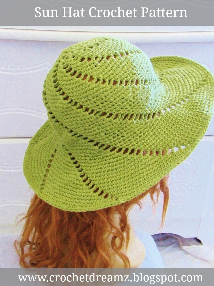 New Crochet Dreamz Sunsational Sun Hat Crochet Pattern Crochet Summer Hat Of Awesome 45 Images Crochet Summer Hat