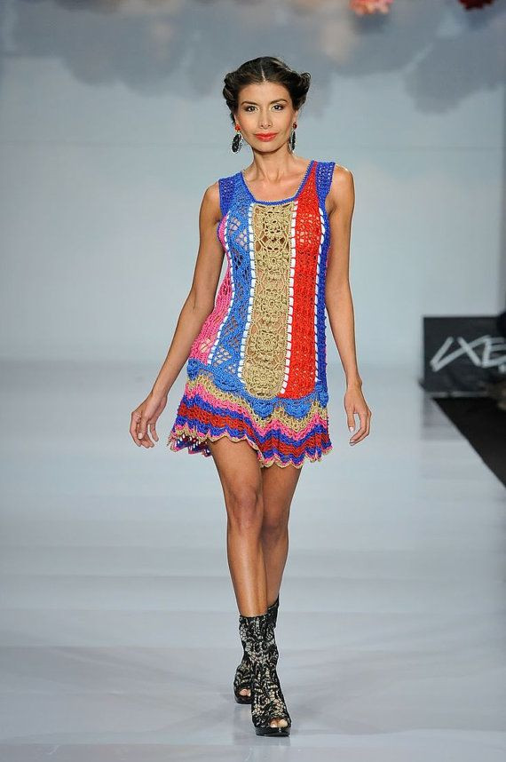 New Crochet Fashion Trends Exclusive Colorful Crochet Dress Crochet Fashions Of Delightful 43 Pics Crochet Fashions