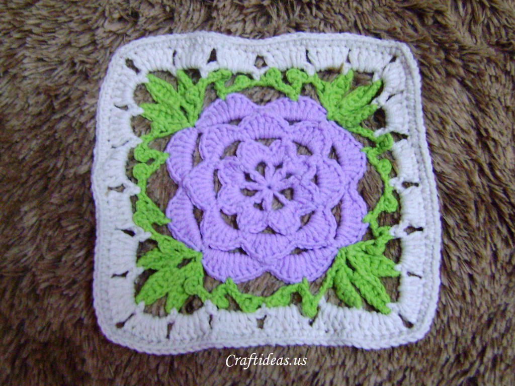 New Crochet Flower Rug Makes Your Room Full Of Happiness Crochet Flower Square Of Brilliant 47 Models Crochet Flower Square