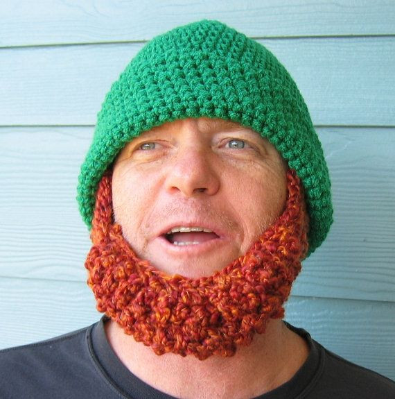 New Crochet Hat Pattern Irish Beard Beanie Reversible Crochet Beard Hat Of Charming 44 Models Crochet Beard Hat