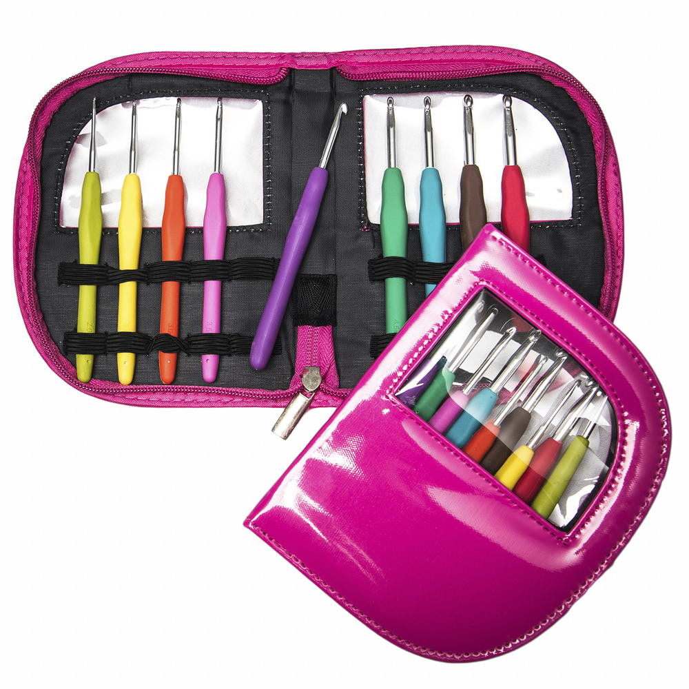 New Crochet Hook Set Crochet Hook Sets with Case Of Amazing 49 Images Crochet Hook Sets with Case