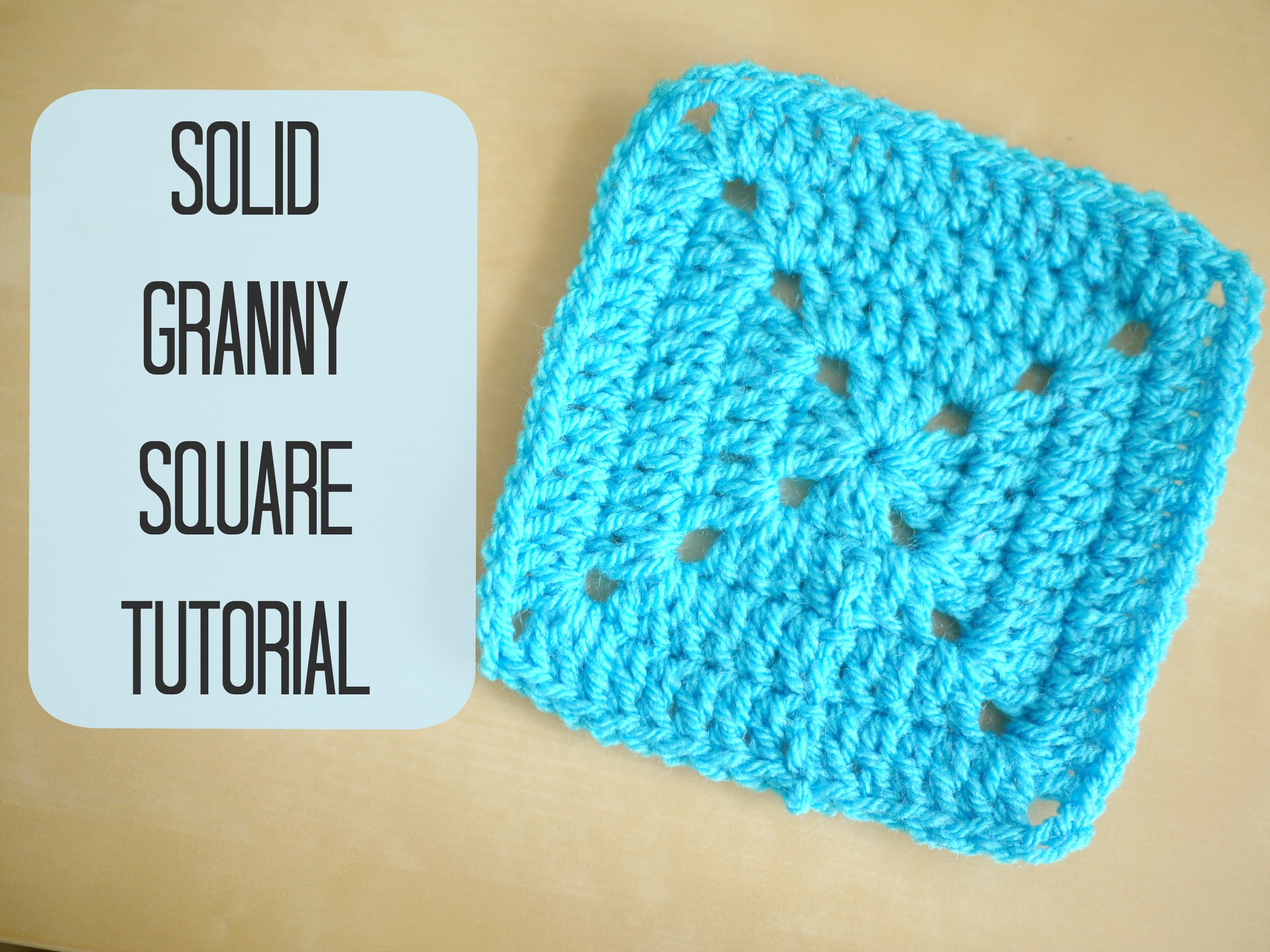 New Crochet How to Crochet A solid Granny Square for Begin Easy Granny Square Pattern Of Amazing 41 Pictures Easy Granny Square Pattern