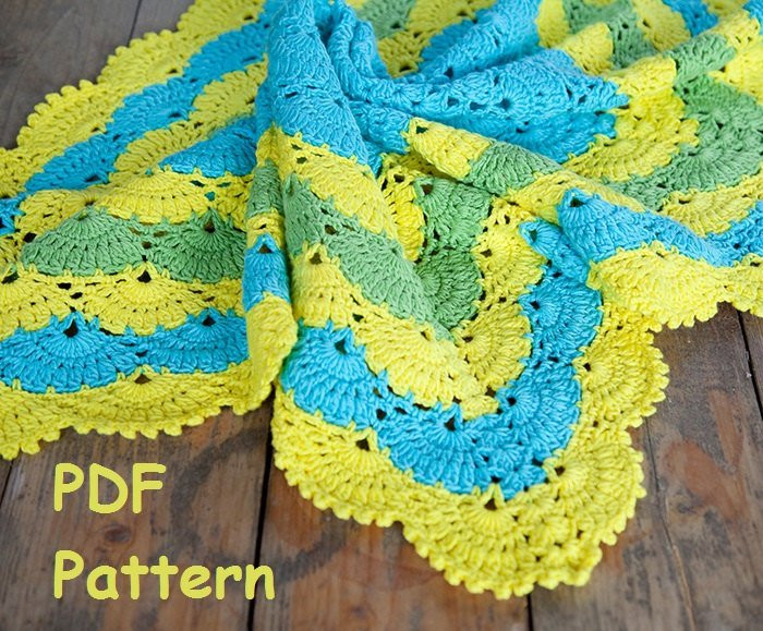 New Crochet Lace Shell Stitch Baby Afghan Pattern Square Afghan Shell Stitch Baby Blanket Of Brilliant 49 Images Shell Stitch Baby Blanket