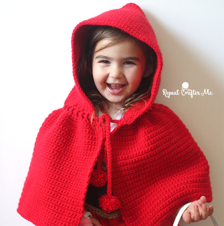 New Crochet Little Red Riding Hood Cape Repeat Crafter Me Red Riding Hood Cape Pattern Of Charming 43 Pictures Red Riding Hood Cape Pattern