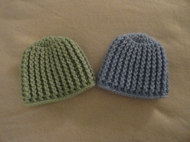 New Crochet Newborn Hospital Hat Pattern Dancox for Knitting Baby Hats for Hospitals Of Beautiful 50 Pics Knitting Baby Hats for Hospitals