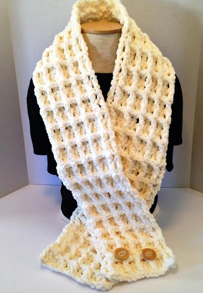 New Crochet Pattern Chunky Waffle Stitch Scarf Using Bernat Bernat Chunky Blanket Yarn Of Fresh 50 Ideas Bernat Chunky Blanket Yarn