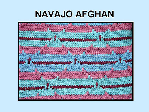 New Crochet Pattern for Navajo Afghan Navajo Crochet Pattern Of Perfect 48 Pics Navajo Crochet Pattern