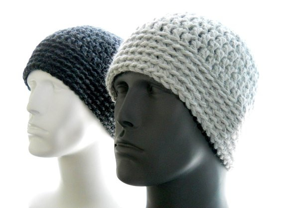 New Crochet Pattern the Chunky Guy Beanie for Men Hat by Mens Crochet Hat Pattern Of Charming 48 Ideas Mens Crochet Hat Pattern