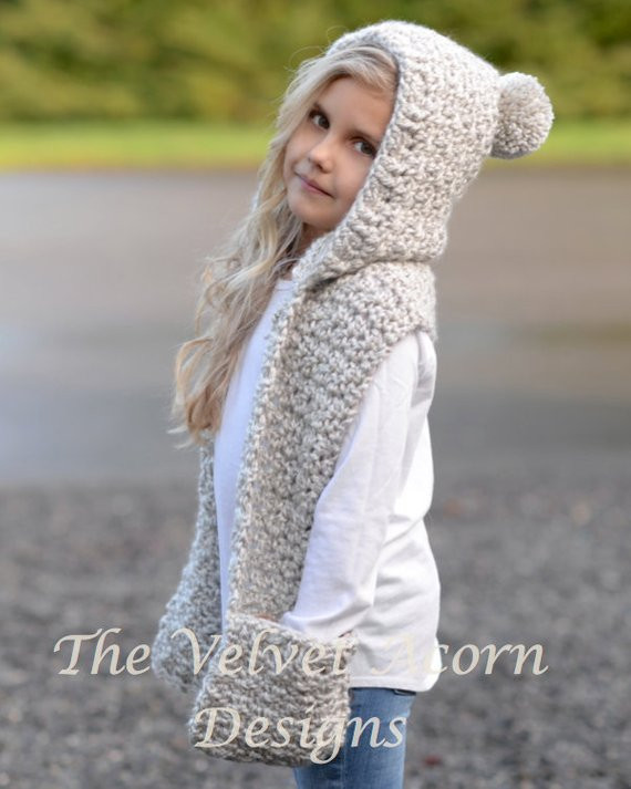 New Crochet Pattern the Summit Hooded Scarf 12 18 Monthtoddler Child Scarf Crochet Pattern Of Top 41 Images Child Scarf Crochet Pattern