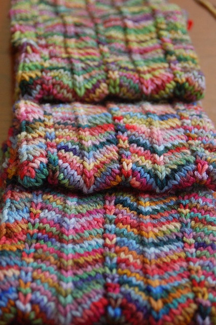 crochet patterns for variegated yarn