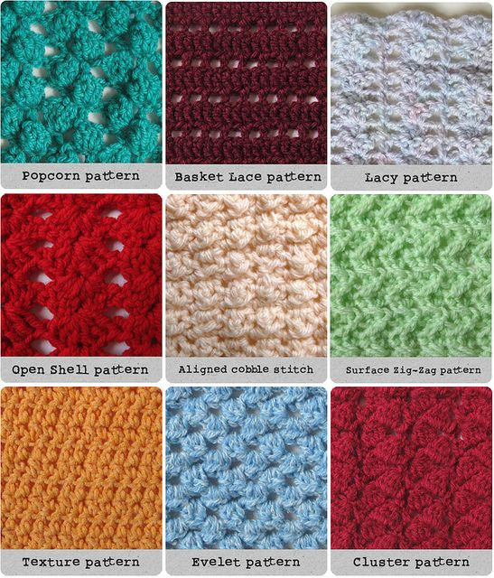 New Crochet Patterns Knit Crochet Pinterest Different Crochet Stitches for Blankets Of Innovative 40 Pictures Different Crochet Stitches for Blankets