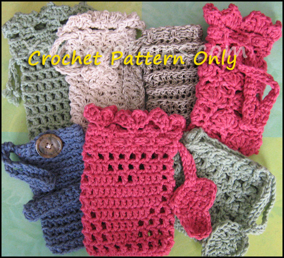 Crochet Sachet – Soap Saver Collection