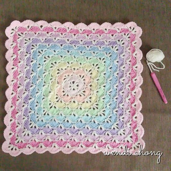 New Crochet Shell Stitch Tutorial Lots Patterns Crochet Shell Blanket Of Lovely 40 Pictures Crochet Shell Blanket