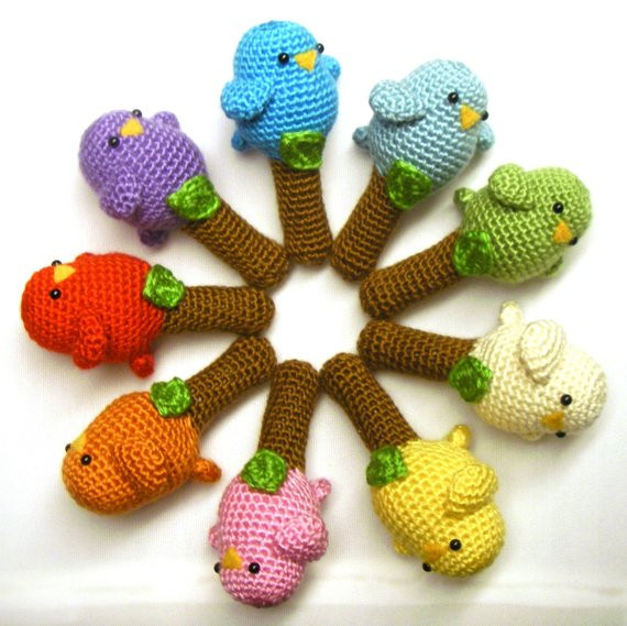 New Crochet toy Pattern Baby Birdy Rattle toy Crochet Baby toy Patterns Of Lovely 44 Images Crochet Baby toy Patterns