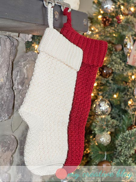 New Crochet Treasures 10 Free Christmas Stockings Crochet Crochet Pattern for Christmas Stocking Of Lovely Christmas Stockings Crochet Pattern for Christmas Stocking