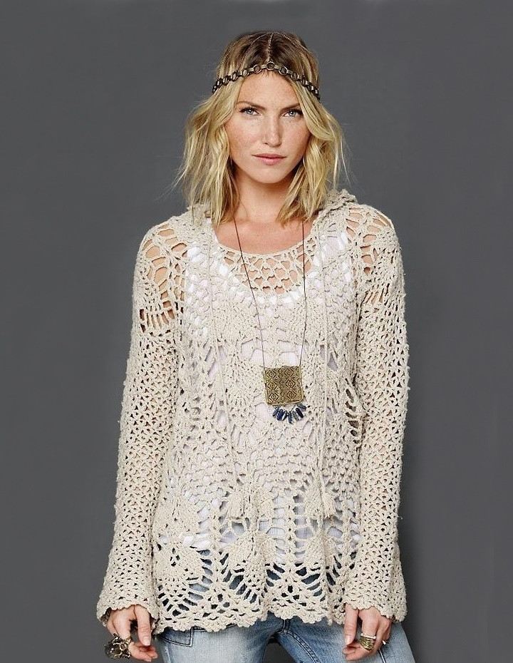New Crochet Tunic Pattern – Hoo by Free People Crochet Lace top Pattern Of Incredible 45 Models Crochet Lace top Pattern
