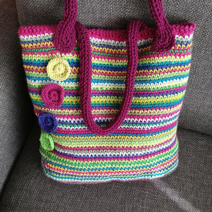 New Crochet Tutorials Crafternoon Treats Crochet tote Of Adorable 41 Images Crochet tote
