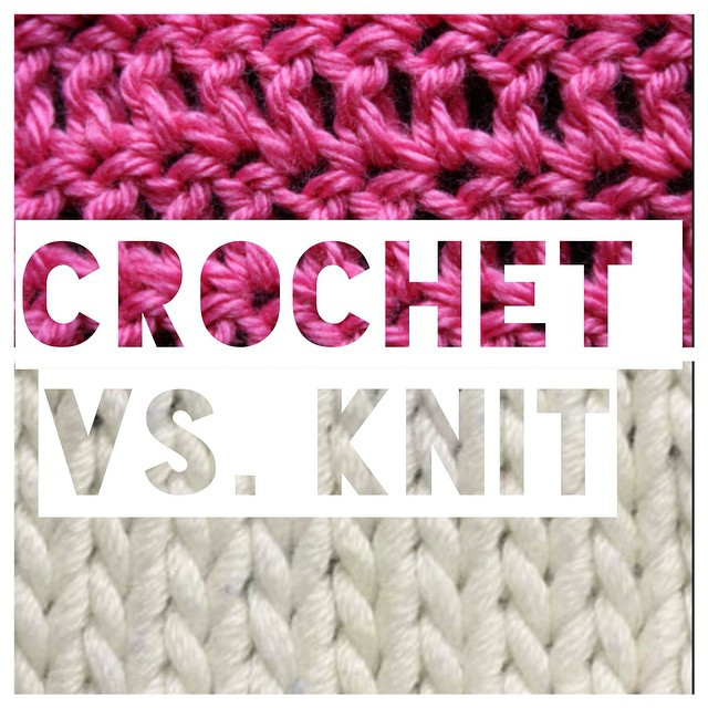 New Crochet Vs Knit which Do You Prefer Does It Make A Crochet Vs Knit Of Perfect 40 Images Crochet Vs Knit