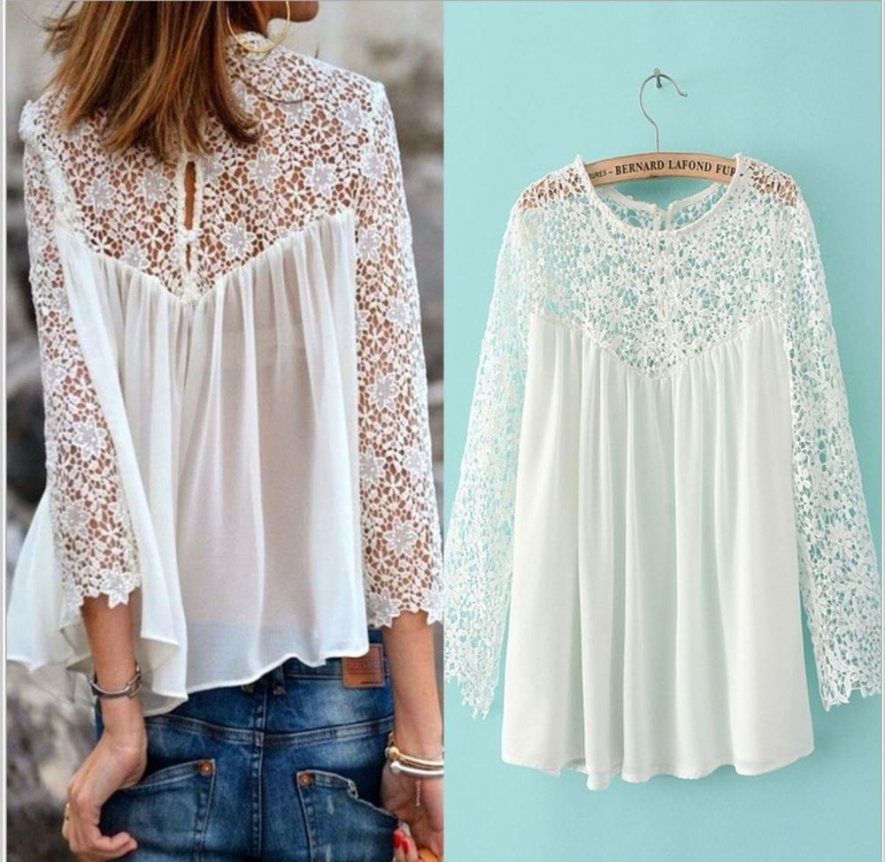 New Crochet White Festival Boho Lace Hippy Shirt top Blouse Crochet Festival top Of Top 44 Ideas Crochet Festival top