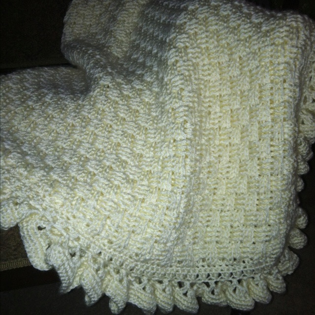 New Crocheted Afghan Basket Weave Pattern with Ruffled Edge Caron Yarn Patterns Free Of Brilliant 41 Photos Caron Yarn Patterns Free