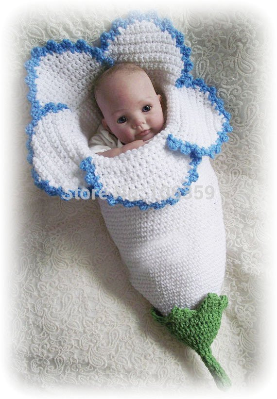 New Crocheted Flower Baby Cocoons are Adorable Crochet Baby Cocoon Of Great 44 Models Crochet Baby Cocoon