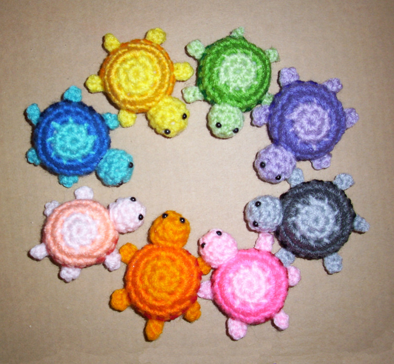 New Crocheted Little Turtle Plushies by Happysquidmuffin On Crochet Turtle Of Innovative 48 Images Crochet Turtle