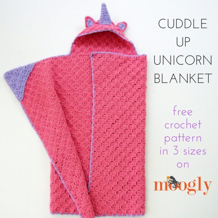 New Cuddle Up Unicorn Blanket Moogly Crochet Unicorn Blanket Pattern Of Marvelous 48 Photos Crochet Unicorn Blanket Pattern