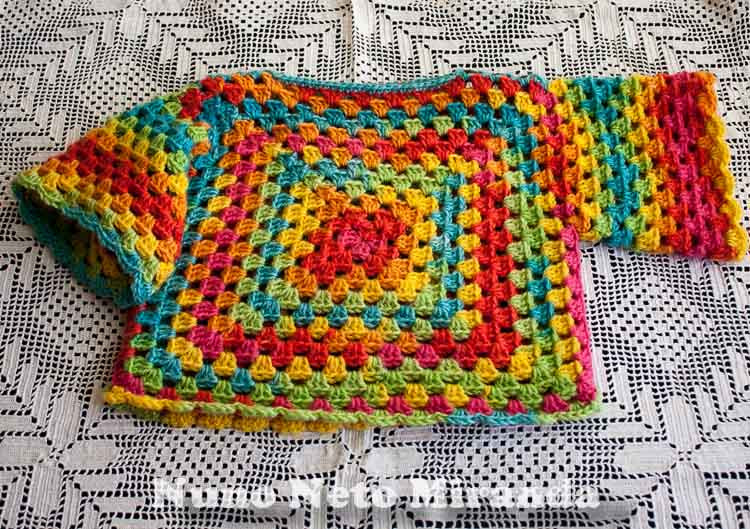 New Days Of Yarning Sweet Little Granny Sweater Granny Square Sweater Of Superb 45 Photos Granny Square Sweater