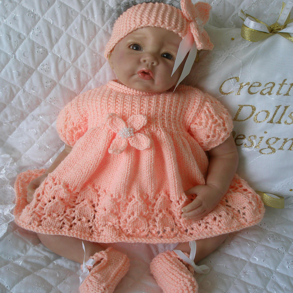 New Designer Baby Knitting Patterns Free Baby Dress Knitting Pattern Of Amazing 40 Models Baby Dress Knitting Pattern