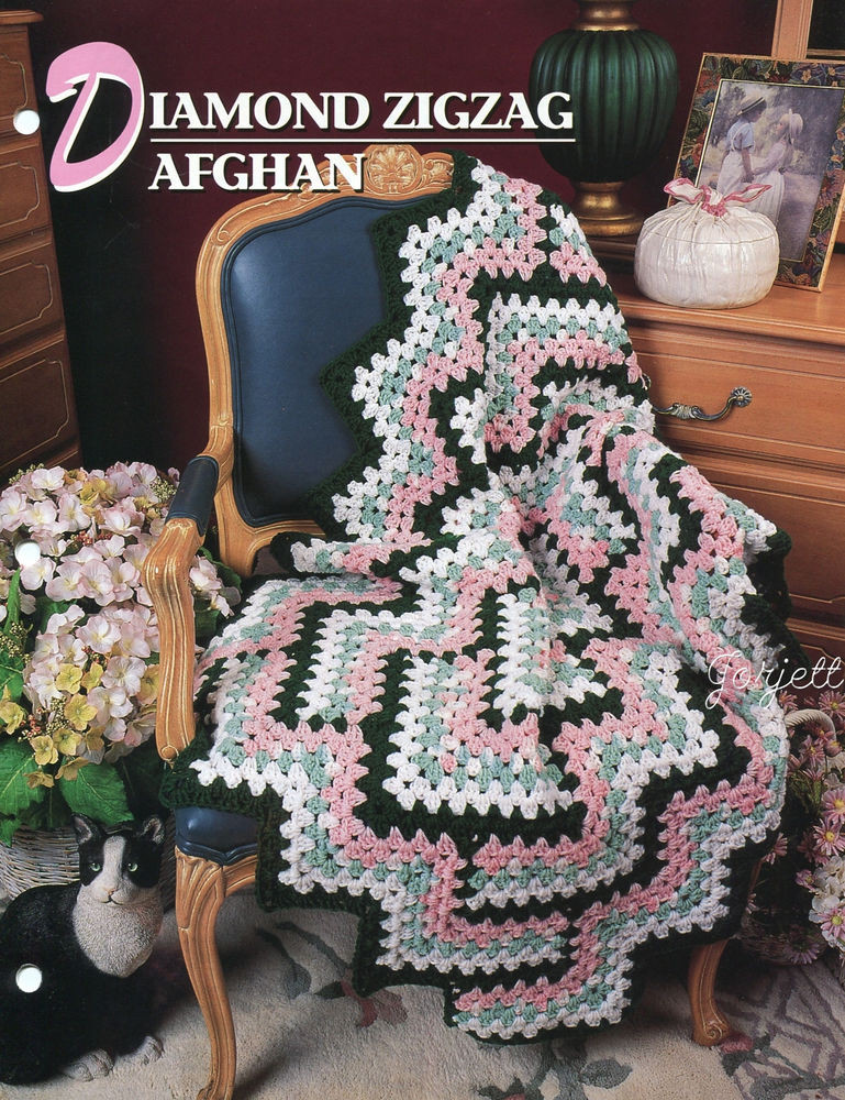 New Diamond Zigzag Afghan Annie S Crochet Pattern Zig Zag Crochet Afghan Pattern Of New 43 Pics Zig Zag Crochet Afghan Pattern
