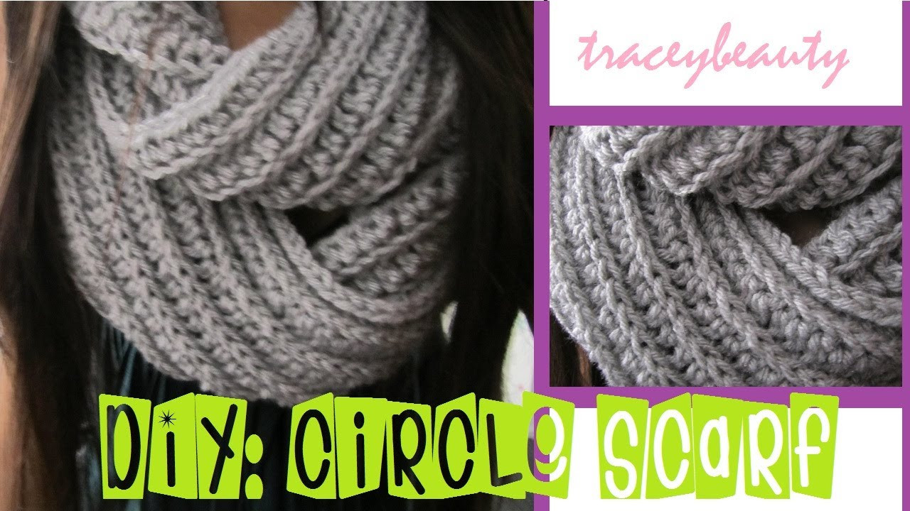 New Diy Knit Like Circle Scarf Crochet Tutorial Crochet Scarf Youtube Of Attractive 40 Pictures Crochet Scarf Youtube
