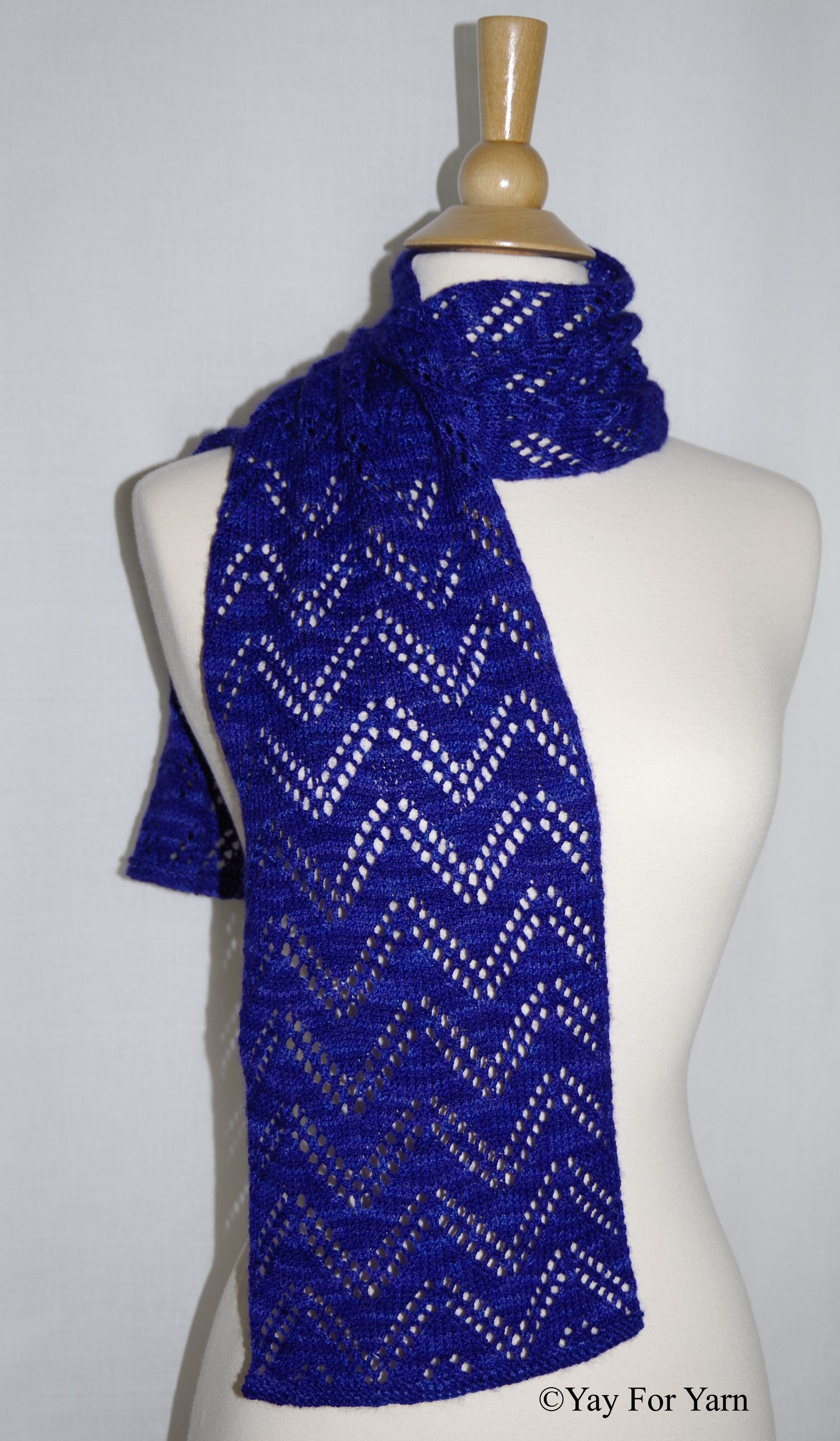 New Double Chevron Lace Scarf – New Knitting Pattern by Yay Yarn Scarf Of Attractive 49 Photos Yarn Scarf