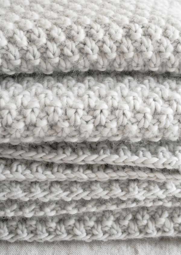 New Double Seed Stitch Blanket the Purl Bee Knitting Double Stitch Crochet Blanket Of Awesome 49 Models Double Stitch Crochet Blanket