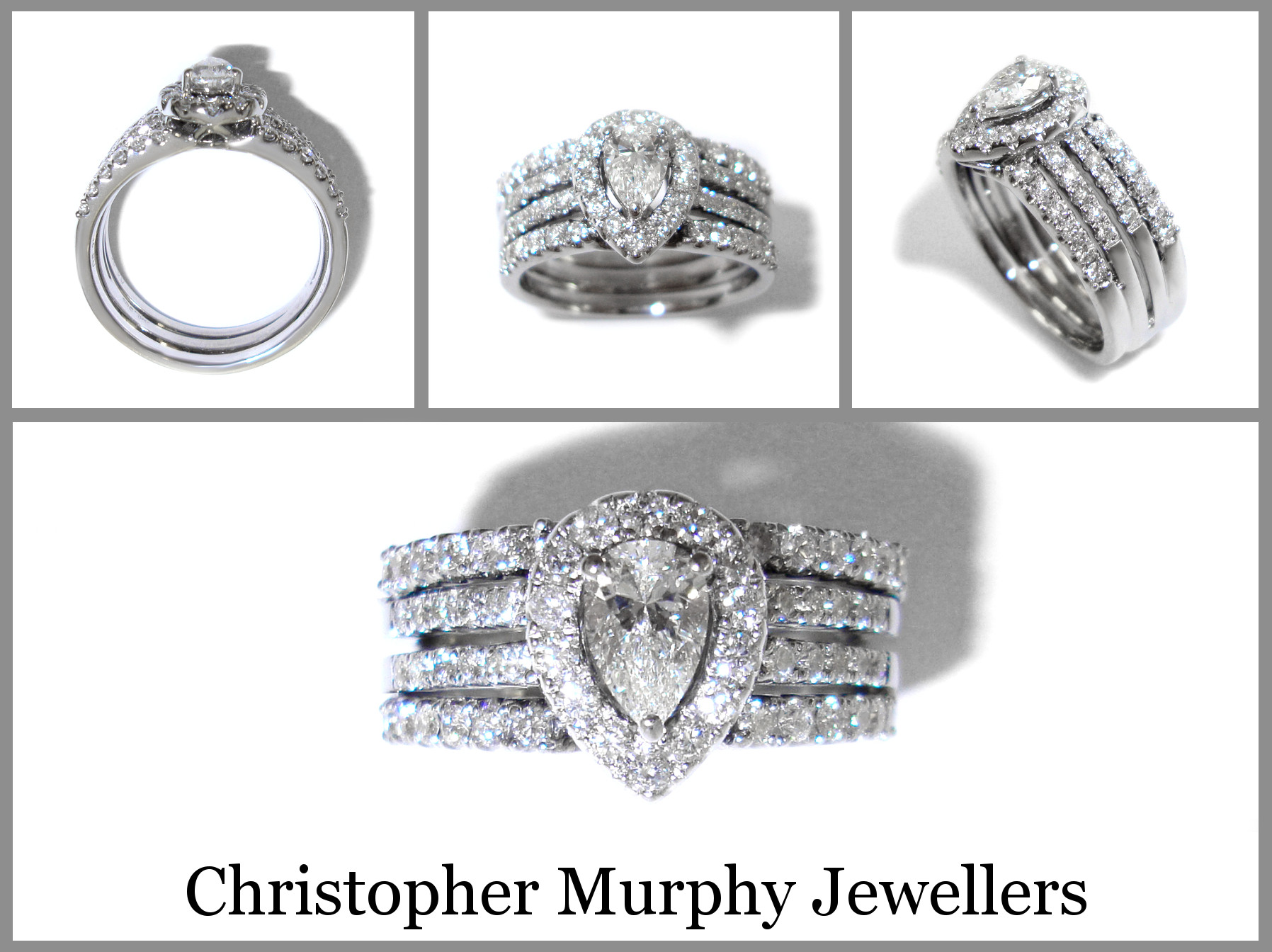 New Double Wedding Ring 206 Christopher Murphy Jewellers Double Wedding Ring Of Perfect 40 Photos Double Wedding Ring
