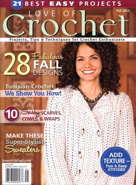 Download Love of Crochet – Fall 2013 PDF Magazine